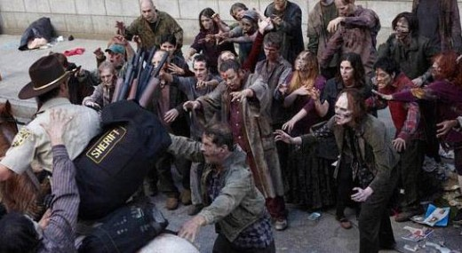 The Walking Dead. Esto se anima