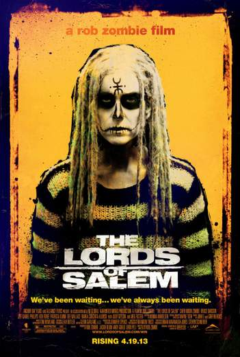 "Póster de ""The Lords of Salem""."