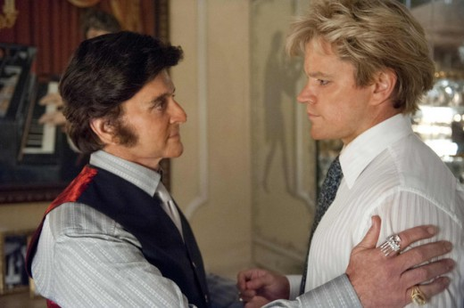 """Behind the Candelabra"", con Michael Douglas."