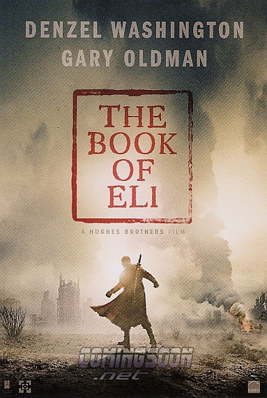 The Book of Eli, primer póster