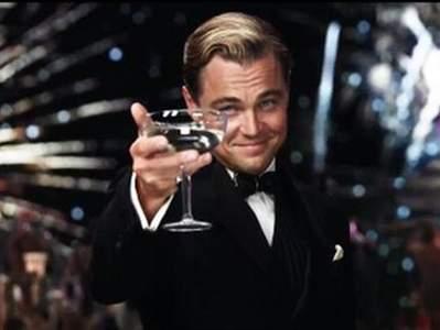 """""""El Gran Gatsby"""", Leonardo DiCaprio."""