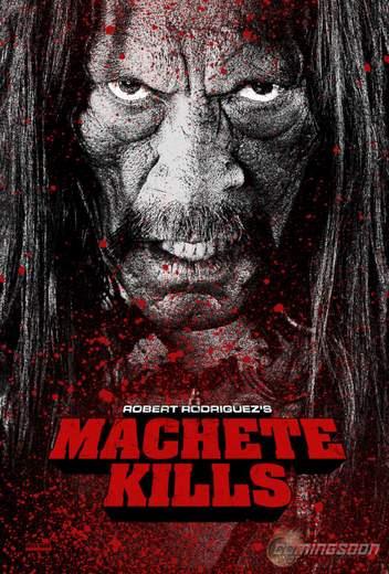 "Póster de ""Machete Kills""."