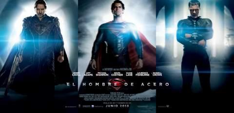 """Banner de """"El Hombre de Acero""""."""