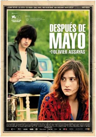 """Póster de """"Después de Mayo""""."""