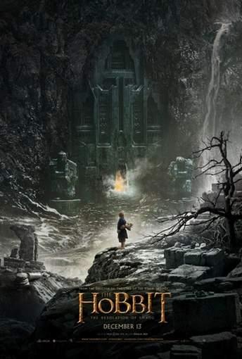 """Póster de """"El Hobbit: La Desolación de Smaug""""."""