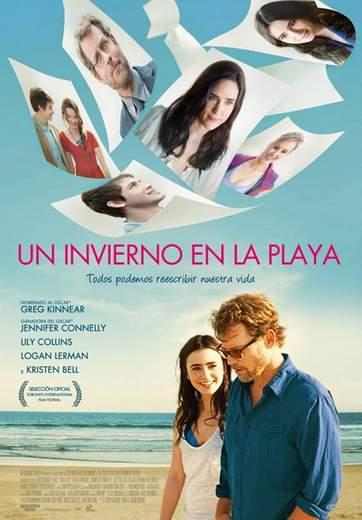 """Póster de """"Un Invierno en la Playa""""."""