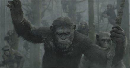 """""""El Amanecer del planeta de los Simios"""", primera imagen oficial."""