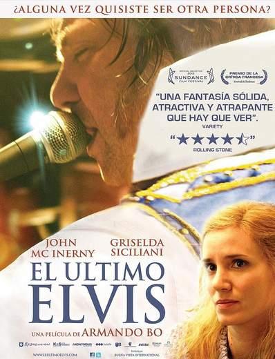 """Póster de """"El Último Elvis""""."""