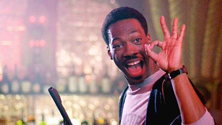 """Superdetective en Hollywood 4"" con Eddie Murphy."