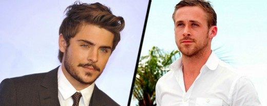 """Zac Efron y Ryan Gosling en """"Star Wars VII""""."""