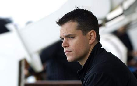 "Matt Damon en ""Interstellar""."