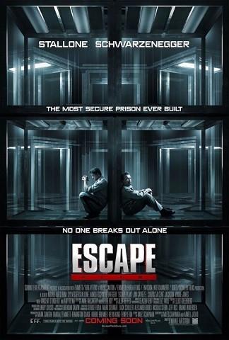 """Póster """"Plan de escape""""."""