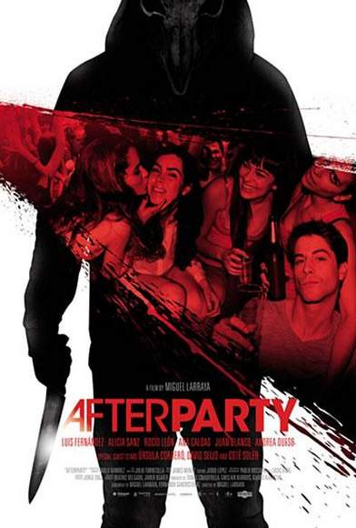 "Póster de ""Afterparty""."