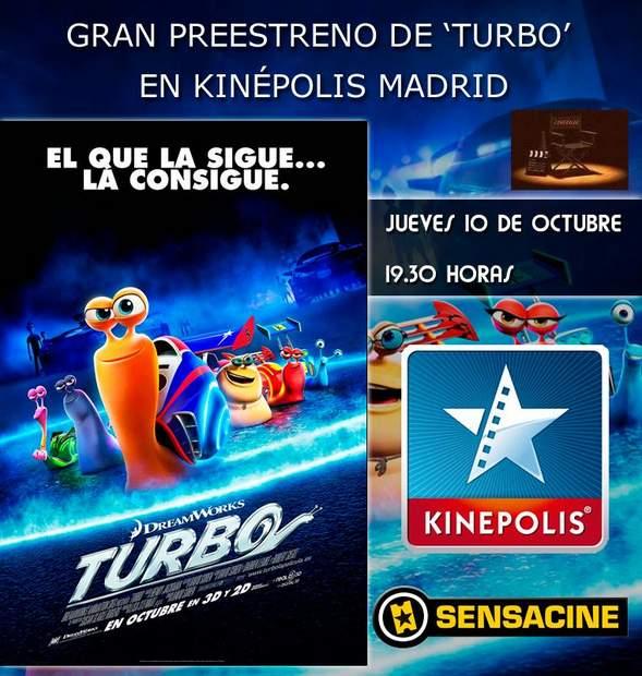"""Concurso """"Turbo"""", preestreno."""