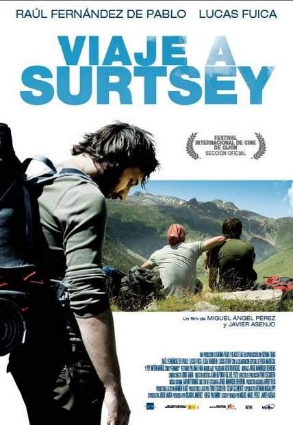 """Póster de """"Viaje a Surtsey""""."""