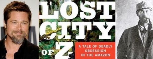 "Brad pitt producirá ""The lost city of Z""."