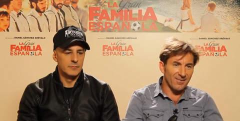 Entrevista exclusiva Antonio de la Torre y Roberto Álamo.