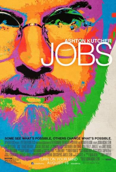 """Póster de """"JOBS""""."""