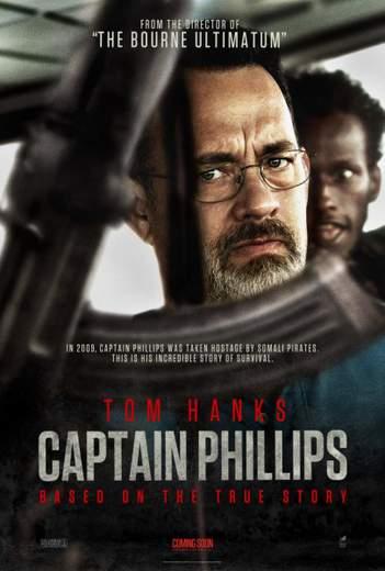 """Póster de """"Capitán Phillips""""."""