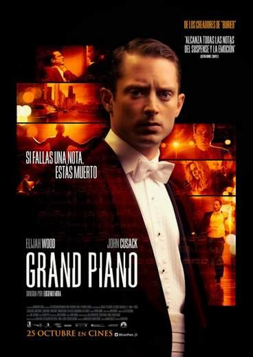 """Póster de """"Grand Piano""""."""
