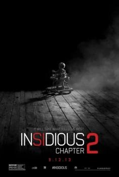 """Póster de """"Insidious: Capítulo 2""""."""