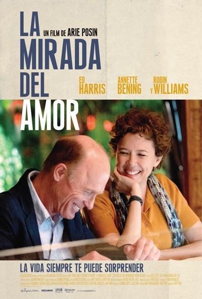 """Póster de """"La Mirada del amor""""."""