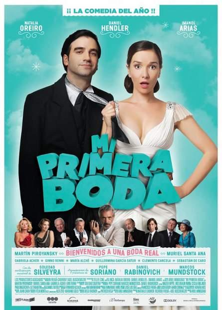 "Póster de ""Mi primera boda""."