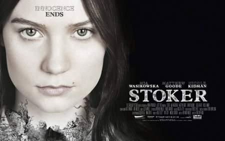 """Cartel de """"Stoker""""."""