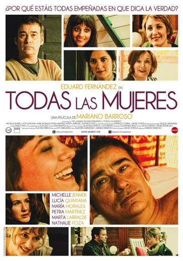 """Póster de """"Todas las Mujeres""""."""