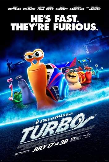 "Póster de ""Turbo""."