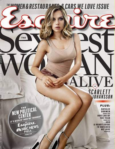 Scarlett Johansson mujer más sexy.