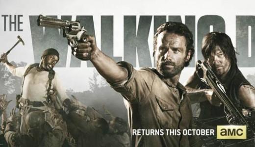 """The Walking dead"" temporada 4."
