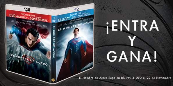 Concurso Blu-ray El Hombre de Acero