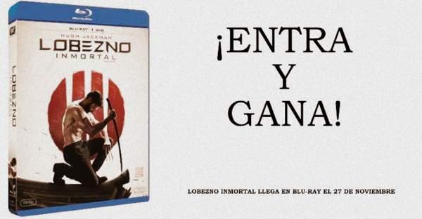Concurso Blu-ray Lobezno Inmortal