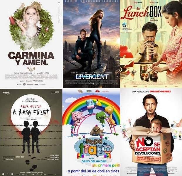 Estrenos de cine semanales 30 de abril de 2014