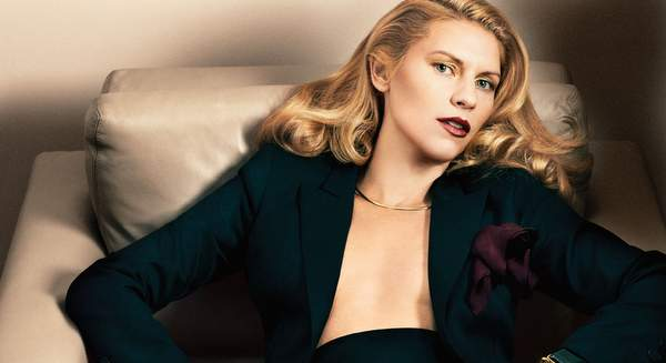 Claire Danes para la revista Interview
