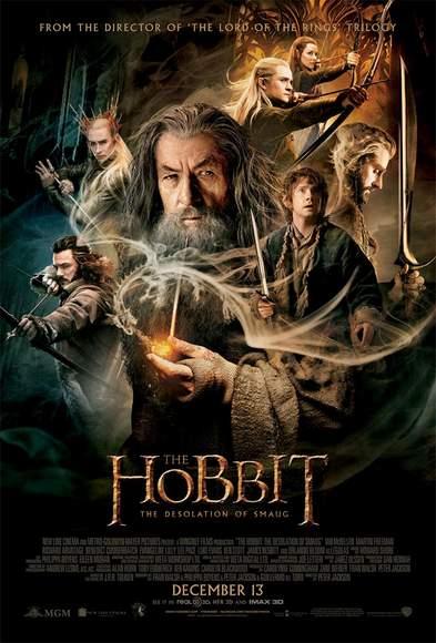 Póster final de El Hobbit: La desolación de Smaug