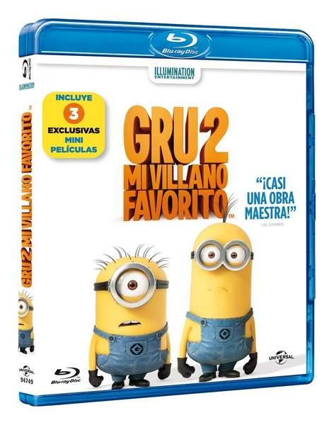 Carátula Blu-ray de Gru 2