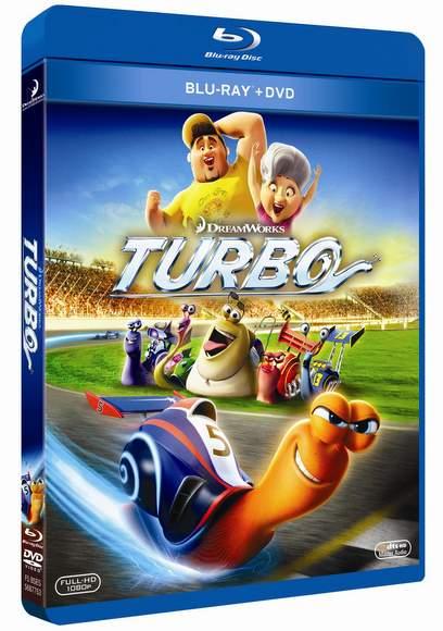 Carátula del Blu-ray de Turbo