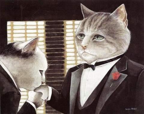 Gatos de película, El Padrino