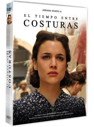 Serie El Tiempo entre costuras ya en DVD
