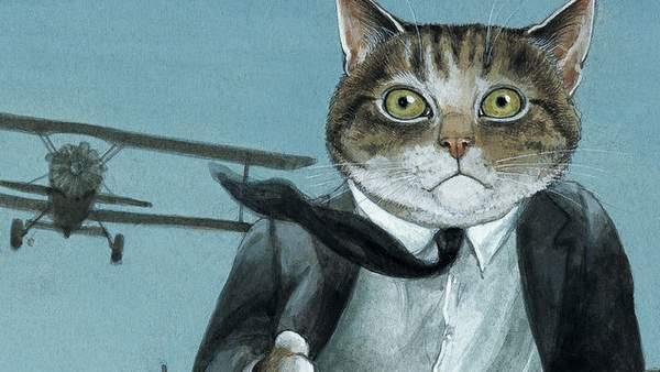 Gatos de película, ilustraciones de gatos