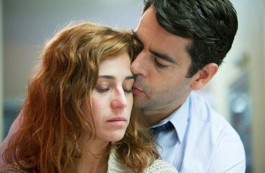 Marta Etura y Eduardo Noriega en Presentimientos