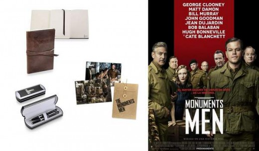 Monuments Men sorteamos regalos