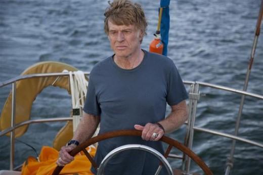 Robert Redford en Cuando todo está perdido