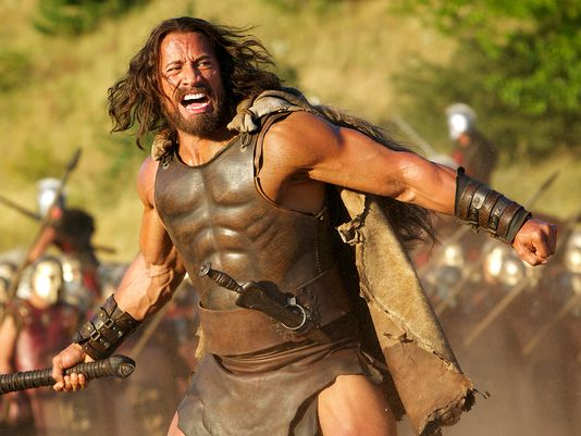 "Dwayne ""La roca"" Johnson es Hércules"