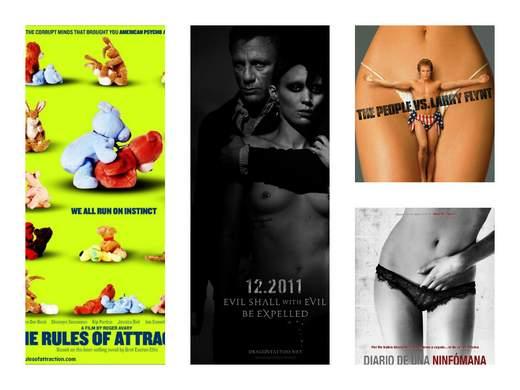 Desnudo en el cine, el arte de insinuar