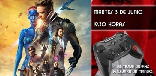 Concurso preestreno de X-Men: Días del futuro pasado