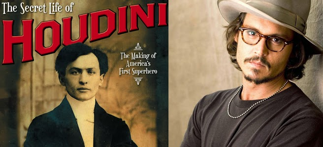 Johnny Deep en La Vida secreta de Houdini