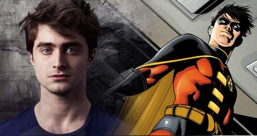 Daniel Radcliffe será Robin en Batman vs Superman